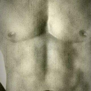 肉体 モノクロの iPhone5s / iPhone5c / iPhone5 壁紙