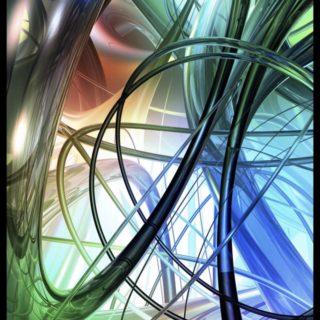 螺旋 カラフルの iPhone5s / iPhone5c / iPhone5 壁紙