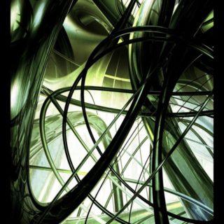 螺旋 クールの iPhone5s / iPhone5c / iPhone5 壁紙