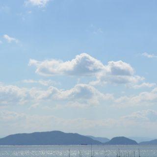 風景空島の iPhone5s / iPhone5c / iPhone5 壁紙