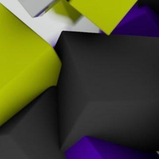 模様クール立体の iPhone5s / iPhone5c / iPhone5 壁紙