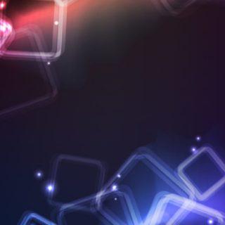 模様クール黒青の iPhone5s / iPhone5c / iPhone5 壁紙