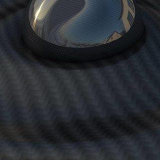 クール模様球黒の iPhone5s / iPhone5c / iPhone5 壁紙
