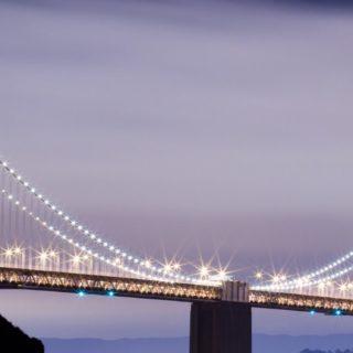 風景橋光の iPhone5s / iPhone5c / iPhone5 壁紙