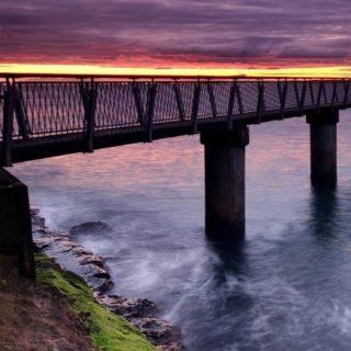 風景橋の iPhone5s / iPhone5c / iPhone5 壁紙