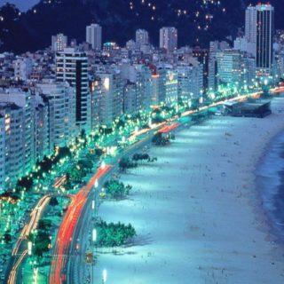 風景ビーチ都会の iPhone5s / iPhone5c / iPhone5 壁紙