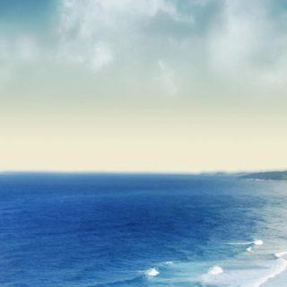 風景海青の iPhone5s / iPhone5c / iPhone5 壁紙