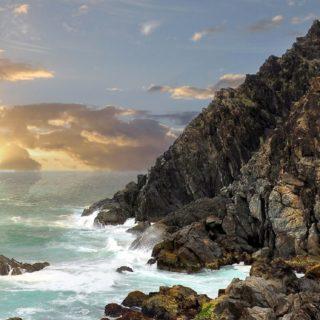 風景海の iPhone5s / iPhone5c / iPhone5 壁紙