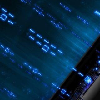 クール青の iPhone5s / iPhone5c / iPhone5 壁紙