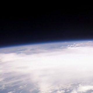 宇宙地球の iPhone5s / iPhone5c / iPhone5 壁紙