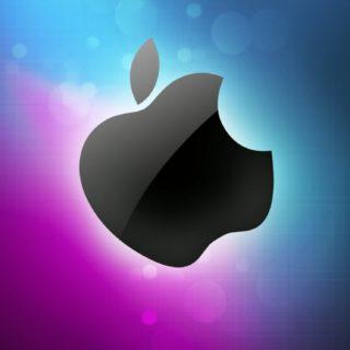 Apple黒の iPhone5s / iPhone5c / iPhone5 壁紙