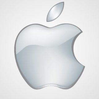 Appleシルバーの iPhone5s / iPhone5c / iPhone5 壁紙