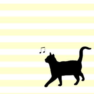 猫模様の iPhone5s / iPhone5c / iPhone5 壁紙