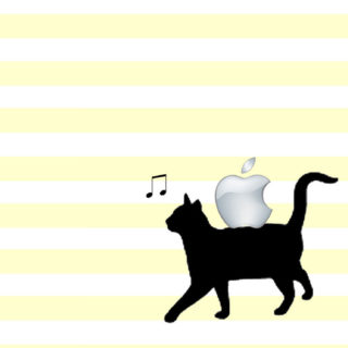 猫模様Appleの iPhone5s / iPhone5c / iPhone5 壁紙