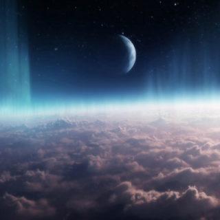 風景宇宙の iPhone5s / iPhone5c / iPhone5 壁紙
