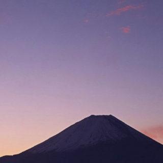 風景富士山の iPhone5s / iPhone5c / iPhone5 壁紙