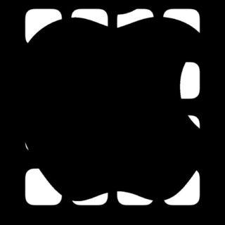 棚Apple黒の iPhone5s / iPhone5c / iPhone5 壁紙