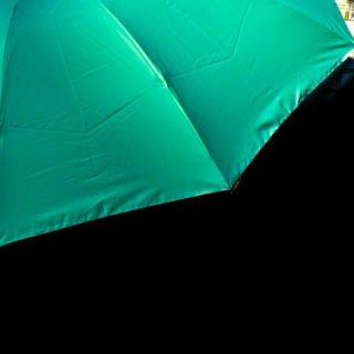 風景傘緑の iPhone5s / iPhone5c / iPhone5 壁紙