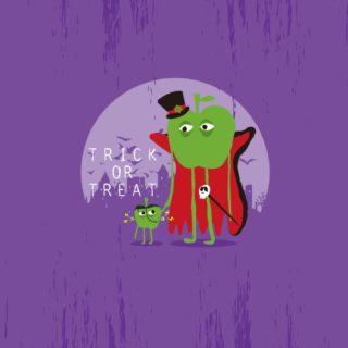 ハロウィン紫の iPhone5s / iPhone5c / iPhone5 壁紙