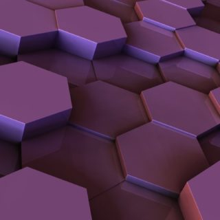 クールタイル紫の iPhone5s / iPhone5c / iPhone5 壁紙