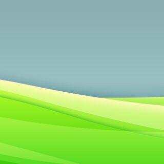 クール緑の iPhone5s / iPhone5c / iPhone5 壁紙