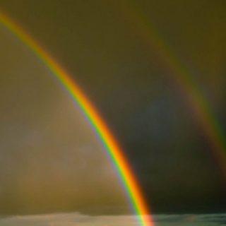 風景虹の iPhone5s / iPhone5c / iPhone5 壁紙