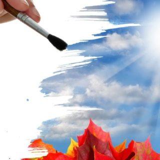クール自然紅葉の iPhone5s / iPhone5c / iPhone5 壁紙