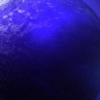 宇宙地球青の iPhone5s / iPhone5c / iPhone5 壁紙
