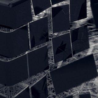 クール黒の iPhone5s / iPhone5c / iPhone5 壁紙