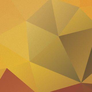 模様橙黄茶の iPhone5s / iPhone5c / iPhone5 壁紙