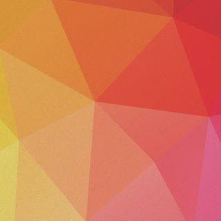 模様赤黄橙桃の iPhone5s / iPhone5c / iPhone5 壁紙