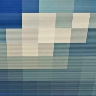 模様青灰の iPhone5s / iPhone5c / iPhone5 壁紙
