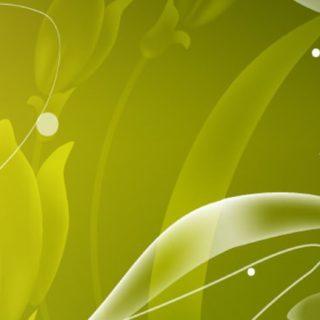 イラスト花緑の iPhone5s / iPhone5c / iPhone5 壁紙