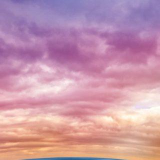 風景空幻想カラフルの iPhone5s / iPhone5c / iPhone5 壁紙