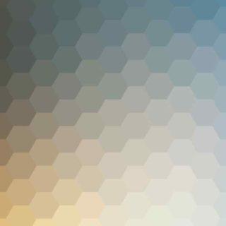 模様青白黄の iPhone5s / iPhone5c / iPhone5 壁紙