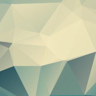 模様立体青白の iPhone5s / iPhone5c / iPhone5 壁紙
