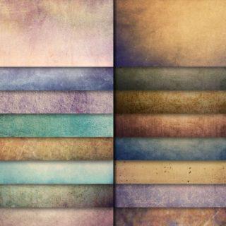 模様自然橙青紫の iPhone5s / iPhone5c / iPhone5 壁紙