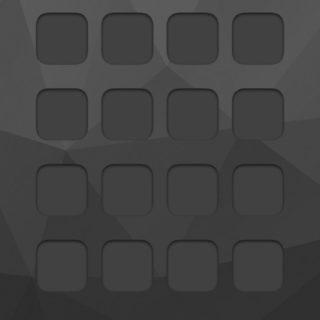 棚黒クール模様の iPhone5s / iPhone5c / iPhone5 壁紙
