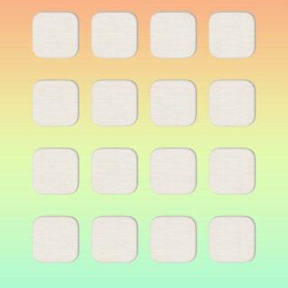 棚赤青黄可愛いの iPhone5s / iPhone5c / iPhone5 壁紙