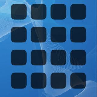 棚青クールの iPhone5s / iPhone5c / iPhone5 壁紙