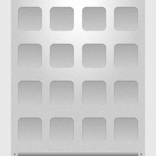 棚灰白シンプルの iPhone5s / iPhone5c / iPhone5 壁紙