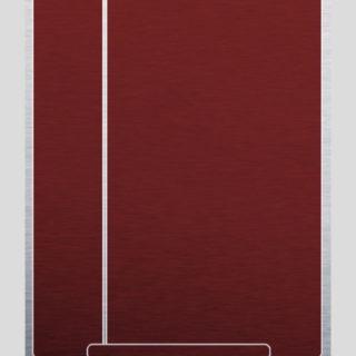 棚赤白シンプルの iPhone5s / iPhone5c / iPhone5 壁紙