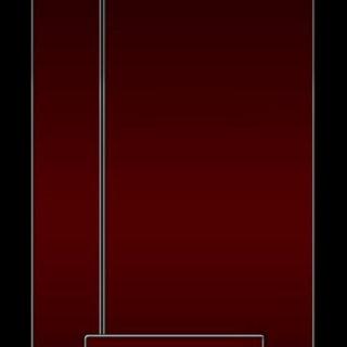 棚赤黒シンプルクールの iPhone5s / iPhone5c / iPhone5 壁紙