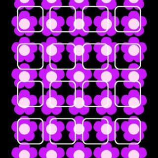 棚花紫黒の iPhone5s / iPhone5c / iPhone5 壁紙