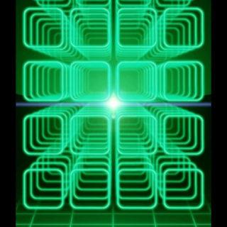 棚クール緑黒の iPhone5s / iPhone5c / iPhone5 壁紙
