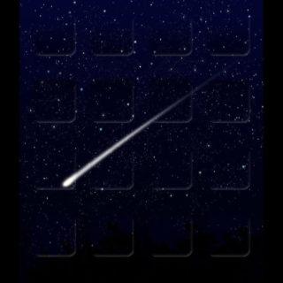 棚星黒クール宇宙の iPhone5s / iPhone5c / iPhone5 壁紙