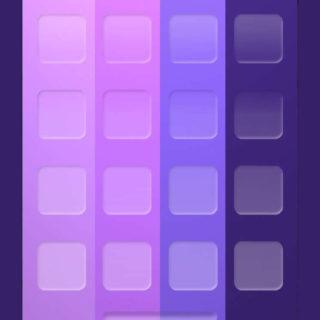 棚シンプル赤青紫の iPhone5s / iPhone5c / iPhone5 壁紙