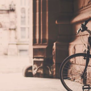 風景自転車オシャレの iPhone5s / iPhone5c / iPhone5 壁紙