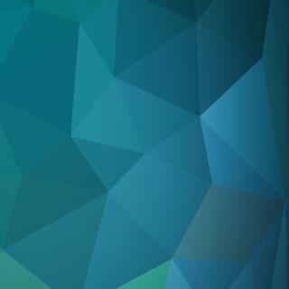 模様青紺緑クールの iPhone5s / iPhone5c / iPhone5 壁紙