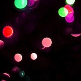 模様黒緑赤光クールの iPhone5s / iPhone5c / iPhone5 壁紙